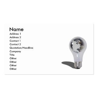 WorldEnergy103010, Name, Address 1, Address 2, ... Business Card Template