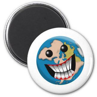 Worldly Smile Magnet