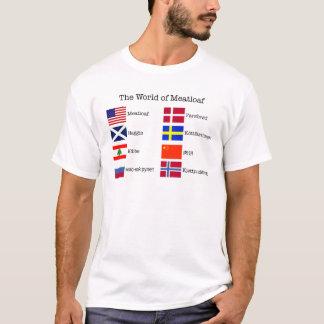 WorldMeatloaf Black Letters T-Shirt