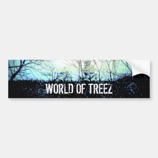 worldoftreez bumper sticker