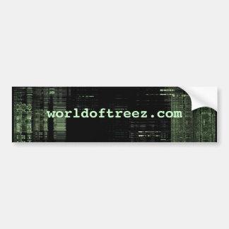 worldoftreez com-bumper sticker bumper sticker