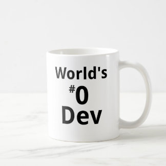 World's #0 Dev Mug Dual-sided