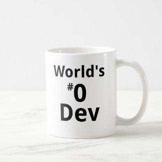 World's #0 Dev Mug Dual-sided