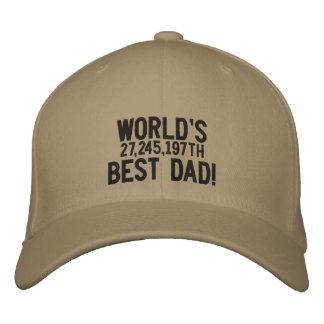 World's 27,245,197th Best Dad Baseball Cap
