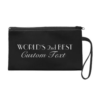 World's 2nd Best Custom Wristlet Purses