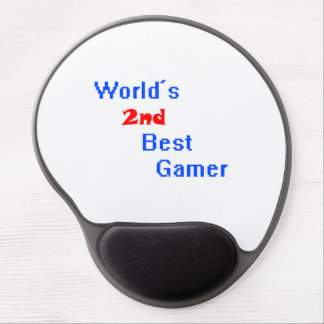 World's 2nd Best Gamer Gel Mouse Pad