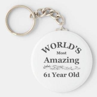World's amazing 62 year old keychains