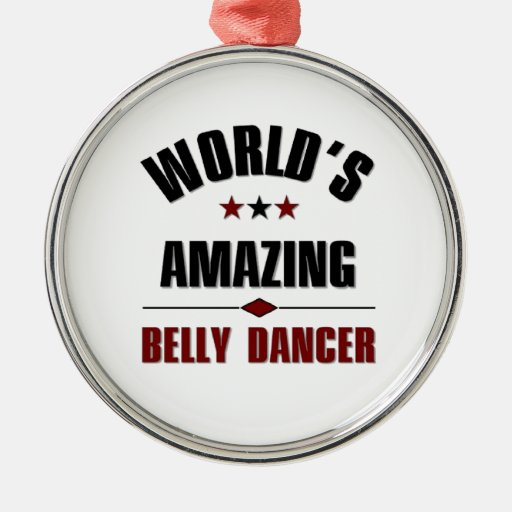 World's amazing belly dancer ornaments