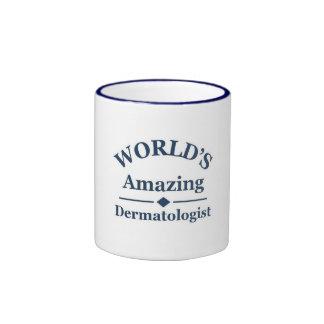 World's amazing Dermatologist Ringer Mug