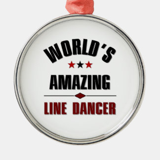 World's amazing Line dancer Ornaments