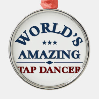 World's amazing Tap Dancer Christmas Tree Ornament