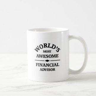 World's awesome Financial Advisor Coffee Mugs