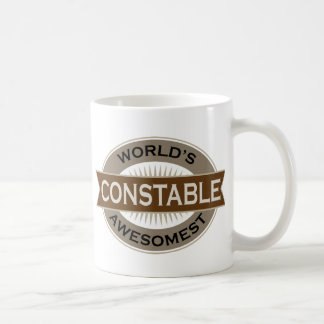 Worlds Awesomest Constable Coffee Mugs