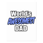 World's Awesomest Dad Postcards