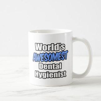 World's Awesomest Dental Hygienist Mugs