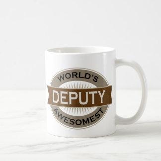 Worlds Awesomest Deputy Basic White Mug