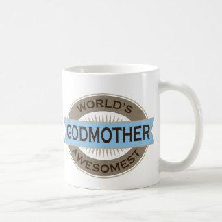 Worlds Awesomest Godmother Coffee Mug