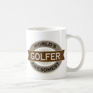 Worlds Awesomest Golfer Coffee Mug