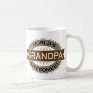 Worlds Awesomest Grandpa Mug