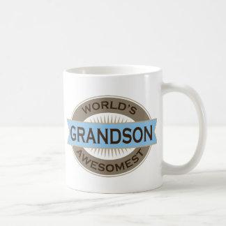 Worlds Awesomest Grandson Coffee Mugs