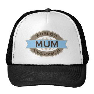 Worlds Awesomest Mum Trucker Hats