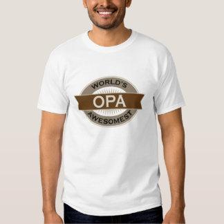 Worlds Awesomest Opa T Shirt
