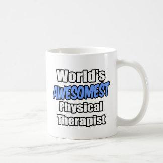 World's Awesomest Physical Therapist Basic White Mug