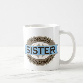 Worlds Awesomest Sister Coffee Mug