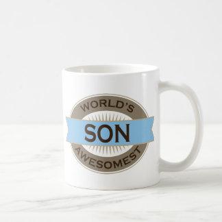Worlds Awesomest Son Coffee Mugs