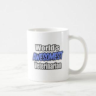 World's Awesomest Veterinarian Coffee Mug