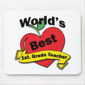 World's Best 1st. Grade Teacher Mousepad