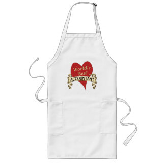 World's Best Accountant Aprons