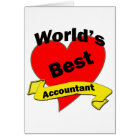 World's Best Accountant Card