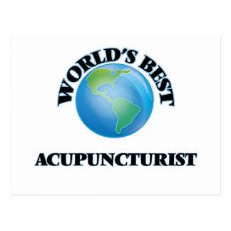 World's Best Acupuncturist Post Cards