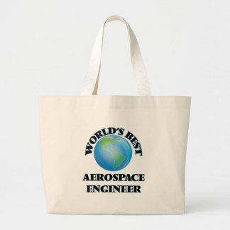 World's Best Aerospace Engineer Canvas Bags
