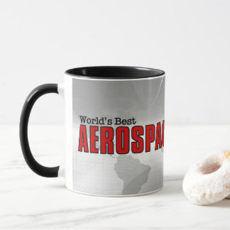 World's Best Aerospace Engineer with Name Mug