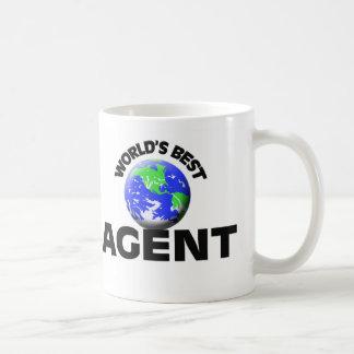 World's Best Agent Basic White Mug