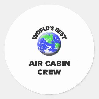 World's Best Air Cabin Crew Sticker