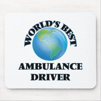 World's Best Ambulance Driver Mouse Pads