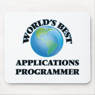 World's Best Applications Programmer Mouse Pads