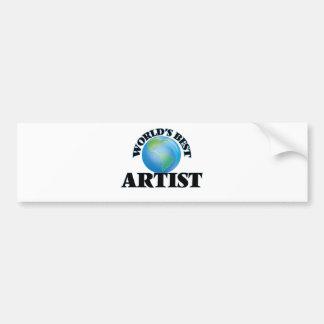 World's Best Artist Bumper Stickers