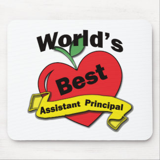 World's Best Assistant Principal Mouse Mat