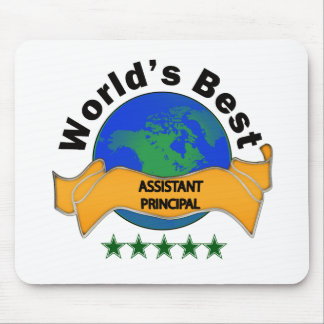 World's Best Assistant Principal Mouse Pad