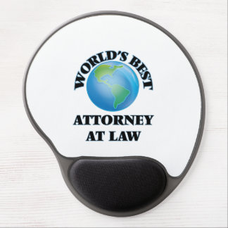 World's Best Attorney At Law Gel Mousepads