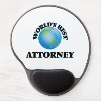 World's Best Attorney Gel Mouse Mat