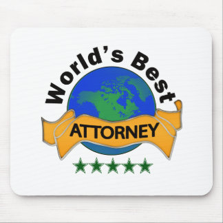 World's Best Attorney Mouse Pad