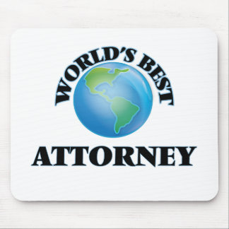 World's Best Attorney Mousepads