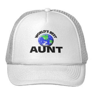 World's Best Aunt Mesh Hat