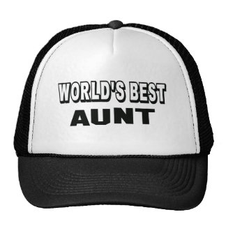 World's best Aunt Cap