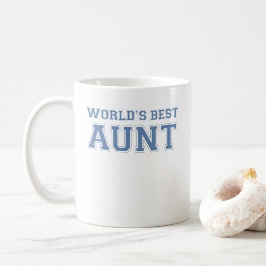 Worlds Best Aunt Coffee Mug